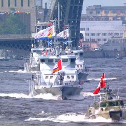 День Военно-Морского флота в Санкт-Петербурге 2018