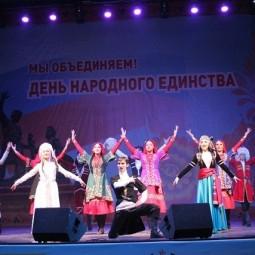 Концерт ко Дню народного Единства 2017