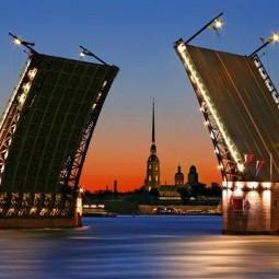 График развода мостов в Санкт-Петербурге на 2017 год