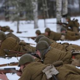 Военно-историческая реконструкции событий Зимней войны «Подвиг Виктора Булавского»