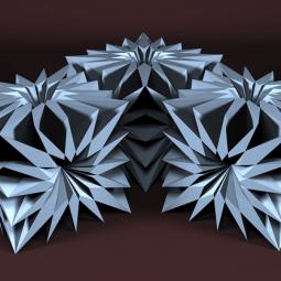 Выставка  «Метаморфозы куба»