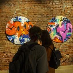 Выставка  «Граффити в эпоху интернета»