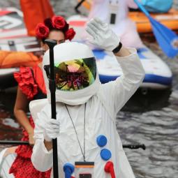 Фестиваль сапсёрфинга «Фонтанка-SUP» 2021