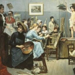 Проект «Сёстры по палитре». Проект для женщин и девушек об искусстве»