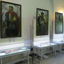 Выставка «Герои Невской битвы»