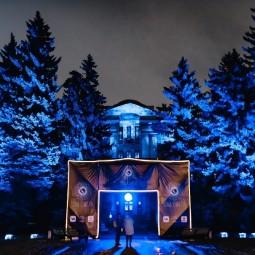 Мультимедийная выставка «Сад Света»