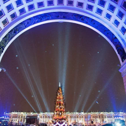 Мультимедийное шоу «Праздничное поздравление с Новым 2018 годом»