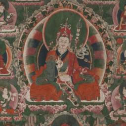 Выставка «Тибетская живопись из собрания Ю. Н. Рериха»