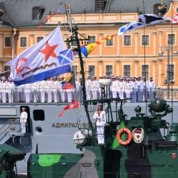 День Военно-Морского флота в Санкт-Петербурге 2020
