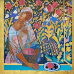 Выставка Лоры Малышевой «Сады и музы»