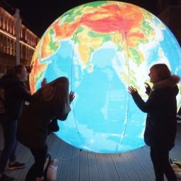 Акция «Час Земли»в Санкт-Петербурге  2021