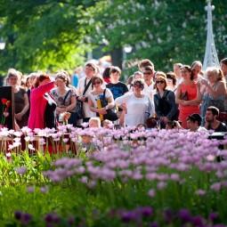 Фестиваль тюльпанов на Елагином острове 2017