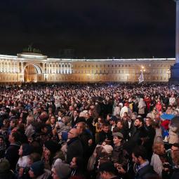Открытие фестиваля «Послание к Человеку» на Дворцовой площади 2017