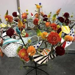 Выставка  «Цветы и формы»