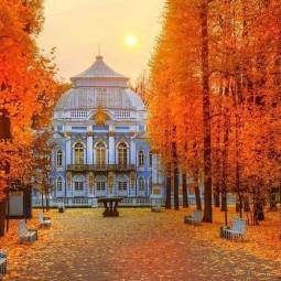 Екатерининский парк переходит на зимний режим работы