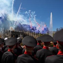День Победы в музее-заповеднике «Петергоф»