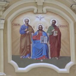 Праздничное богослужение в Петропавловском соборе 2021