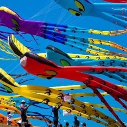 Международный Фестиваль Воздушных змеев «Фортолет» 2018
