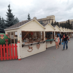 Ярмарка в Московском районе лето 2020