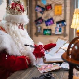 Дед Мороз из Великого Устюга в Санкт-Петербурге 2018