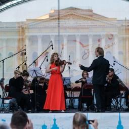 Проект «Скрипка на Невском» 2017