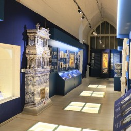 Онлайн открытие зала в Музее архитектурной керамики