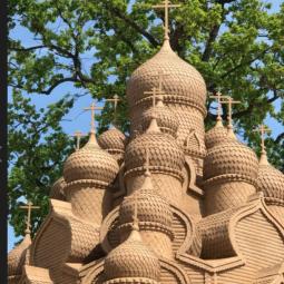 Фестиваль песчаных скульптур-2018 «Мировые шедевры»