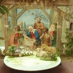 Выставка «На пороге Рождества: история и персонажи Рождественского вертепа»