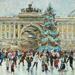 Выставка «Снег идет»