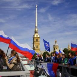 День Флага России в Санкт-Петербурге 2017