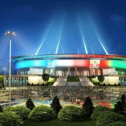 Праздник световых технологий у стадиона