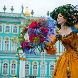 Фестиваль цветов в Санкт-Петербурге 2020