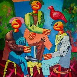 Выставка Дмитрия Стрижова «Герои»