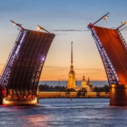 Звуковое шоу Поющие мосты-2019
