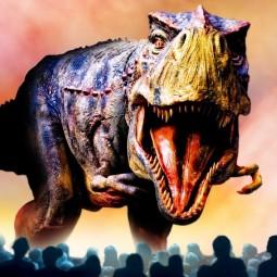 Театрализованное шоу «Прогулки с динозаврами»