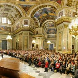 Концерт в Исаакиевском соборе январь 2017