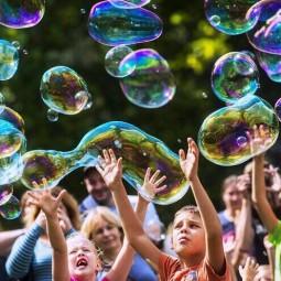 Фестиваль мыльных пузырей в парке Сказок 2019