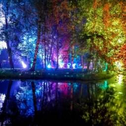 «Ночь света» в Гатчине 2016