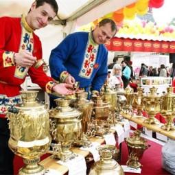 Фестиваль чая и кофе на Московской площади 2016
