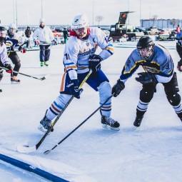 Хоккейный турнир на открытом воздухе Red Bull Шлем и Краги 2021