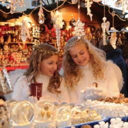 Рождественская ярмарка в историческом центре Санкт-Петербурга 2020