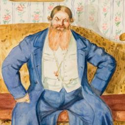 Выставка «Русь купеческая Бориса Кустодиева».