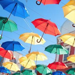 «Аллея парящих зонтиков — 2018»
