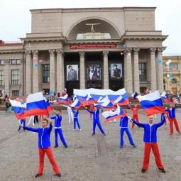 День флага России в Александровском парке 2017