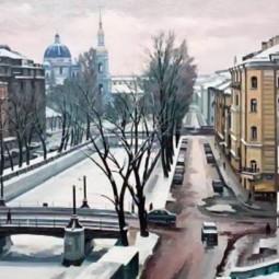 Выставка живописи Виктора Шустрова