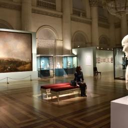Музей Эрмитаж закрыт март 2020 года