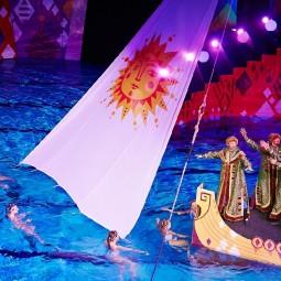 Шоу на воде для всей семьи «Сказка о царе Салтане»