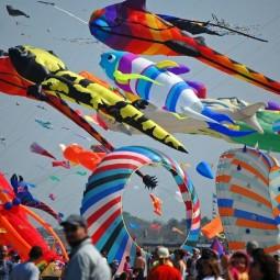 Международный Фестиваль Воздушных змеев «Фортолет» 2019