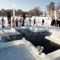 Праздник Крещения в Санкт-Петербурге 2021