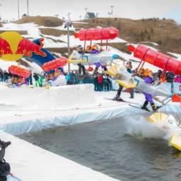 Аква-шоу «Red Bull Jump & Freeze-2021»